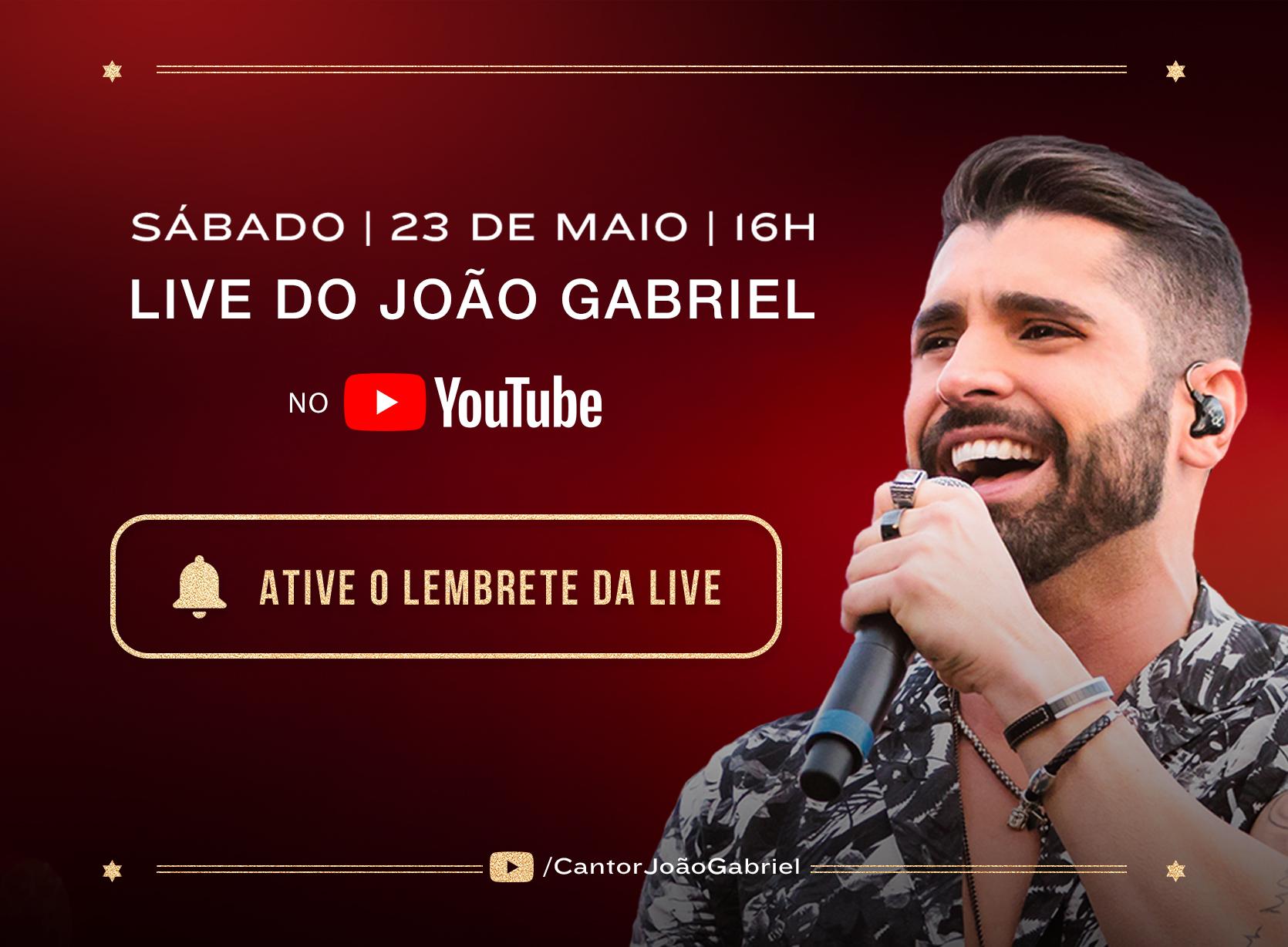 Live João Gabriel